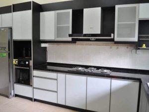 Akrilik Kapak Mutfak Dolabı Modeli 11