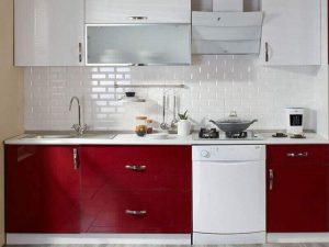 Akrilik Kapak Mutfak Dolabı Modeli 12