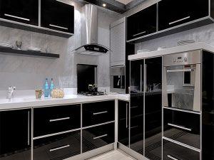 Akrilik Kapak Mutfak Dolabı Modeli 13