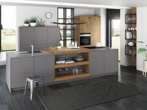 Akrilik Kapak Mutfak Dolabı Modeli 17