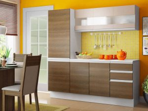 Akrilik Kapak Mutfak Dolabı Modeli 19