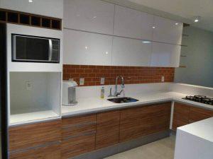 Akrilik Kapak Mutfak Dolabı Modeli 20
