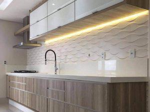 Akrilik Kapak Mutfak Dolabı Modeli 23