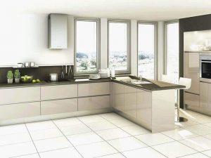 Akrilik Kapak Mutfak Dolabı Modeli 27