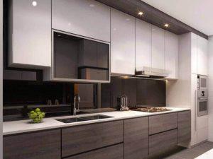 Akrilik Kapak Mutfak Dolabı Modeli 3