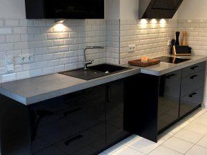 Akrilik Kapak Mutfak Dolabı Modeli 30