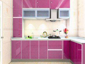 high gloss kapak mutfak dolabı 9