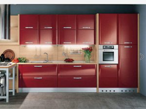 Akrilik Kapak Mutfak Dolabı Modeli 7