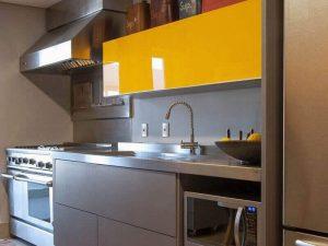 Akrilik Kapak Mutfak Dolabı Modeli 9