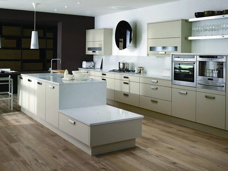 Beyaz Mutfak Dolabı 10