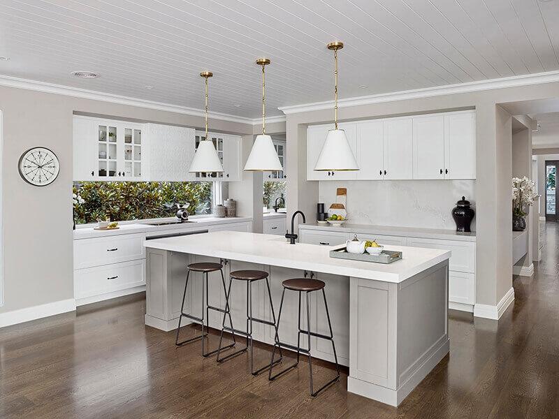 Beyaz Mutfak Dolabı 13