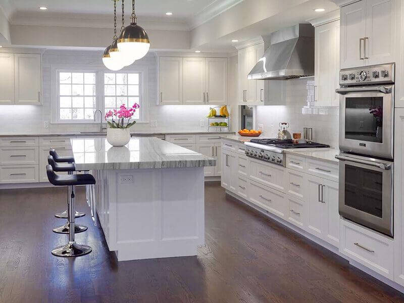 Beyaz Mutfak Dolabı 14