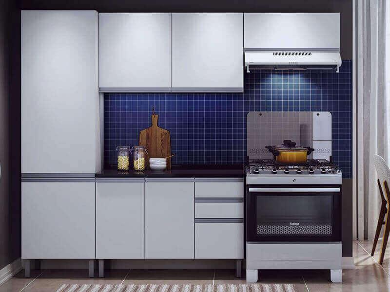 Beyaz Mutfak Dolabı 2