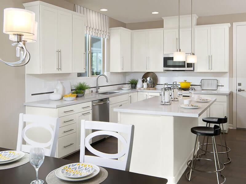 Beyaz Mutfak Dolabı 21