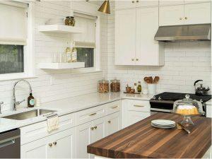 Beyaz Mutfak Dolabı 22