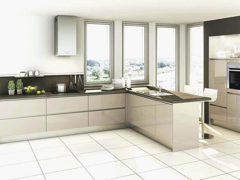 Beyaz Mutfak Dolabı 5