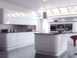 Beyaz Mutfak Dolabı 7