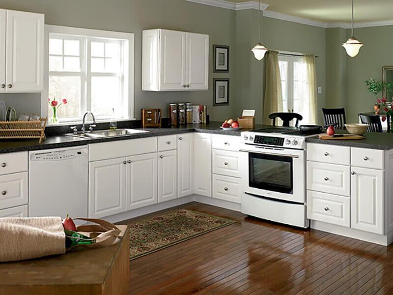 Beyaz Mutfak Dolabı 9