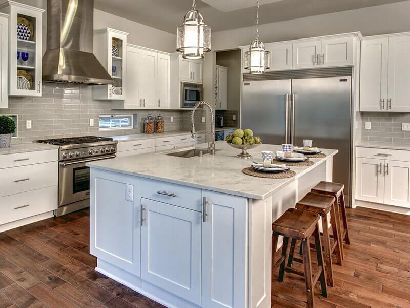 amerikan mutfak dolabı modeli 11