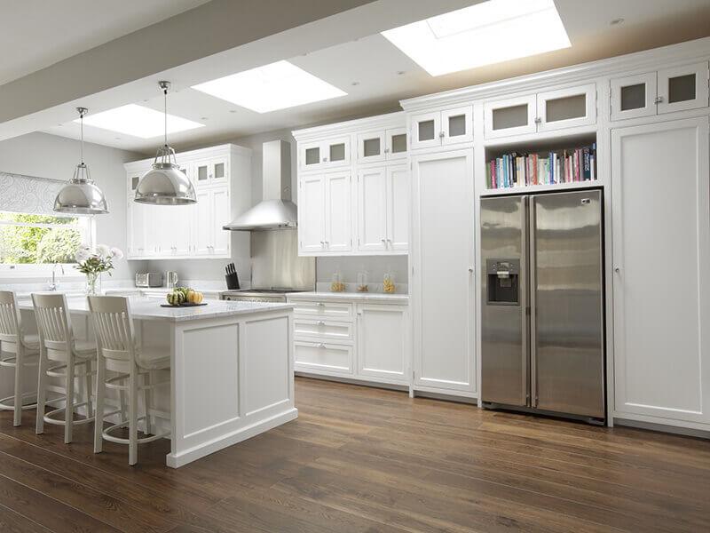 amerikan mutfak dolabı modeli 14