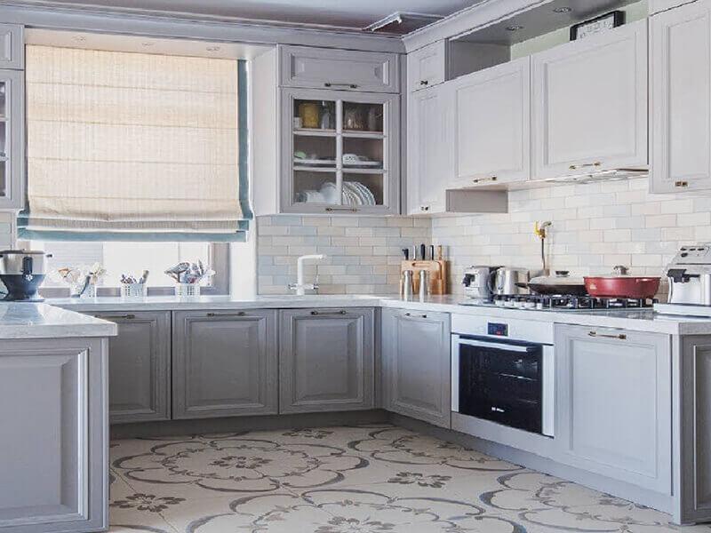 amerikan mutfak dolabı modeli 18