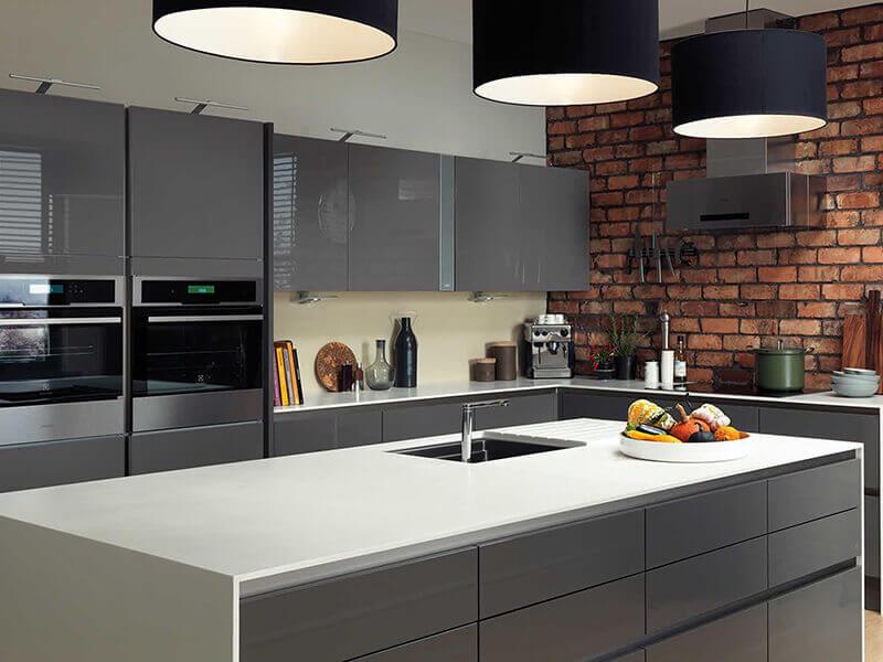 amerikan mutfak dolabı modeli 4
