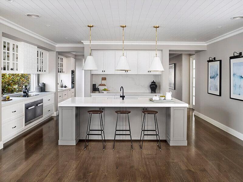 amerikan mutfak dolabı modeli 6
