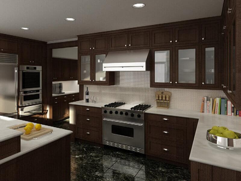 amerikan mutfak dolabı modeli 8