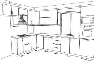 mutfak dolap ölçüleri 3