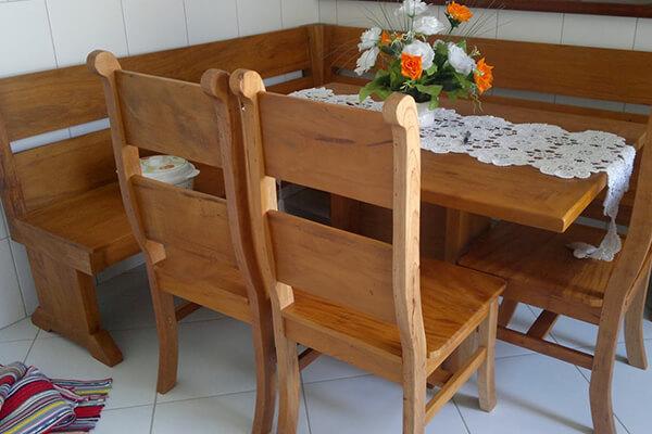klasik mutfak masası