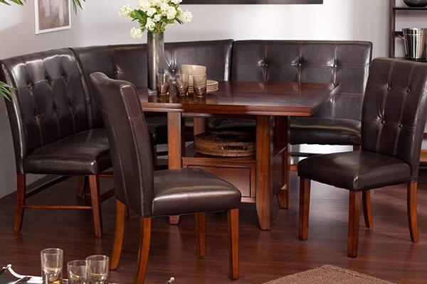 Deri Mutfak Masası