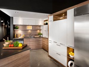 modern Ahşap Mutfak Dolabı Modeli