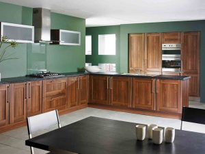 Kahverengi Mutfak Dolabı Modelleri