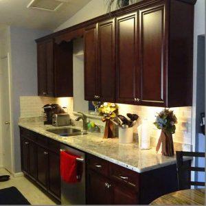 Ceviz Mutfak Dolabı Modeli