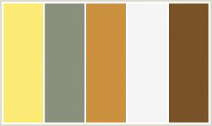Kahverengi Mutfaklar İle Uyumlu Renkler
