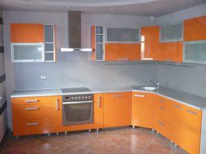 Akrilik Kapak Mutfak Dolapları