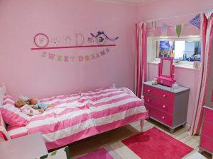 Özel Kız Çocuk Odası Takımları