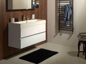 Beyaz Renk lavabo Dolabı