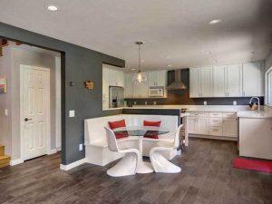 Cam Masalı Mutfak Köşe Takımı Modeli