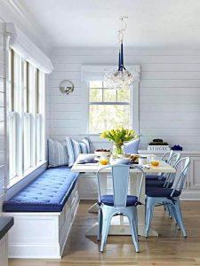 Sandalyeli Mutfak Köşe Takımı Modeli