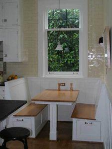 Tek ayaklı Mutfak Köşe Takımı Modeli