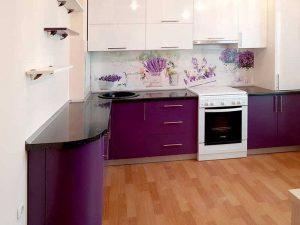 bordo siyah mutfak dolabı modeli