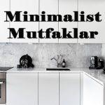 Minimalist Mutfak Dolapları