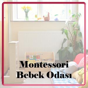 montessori bebek odası nasıl yapılır