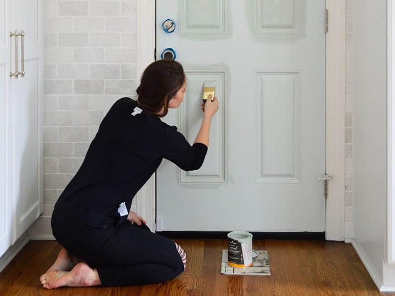 panel kapı nasıl boyanır