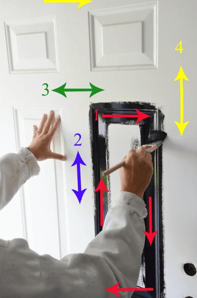 panel kapı boyama