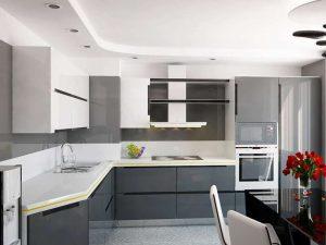 Nazilli High Gloss Mutfak Dolabı Modeli