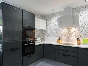 Yenipazar High Gloss Mutfak Dolabı Modeli