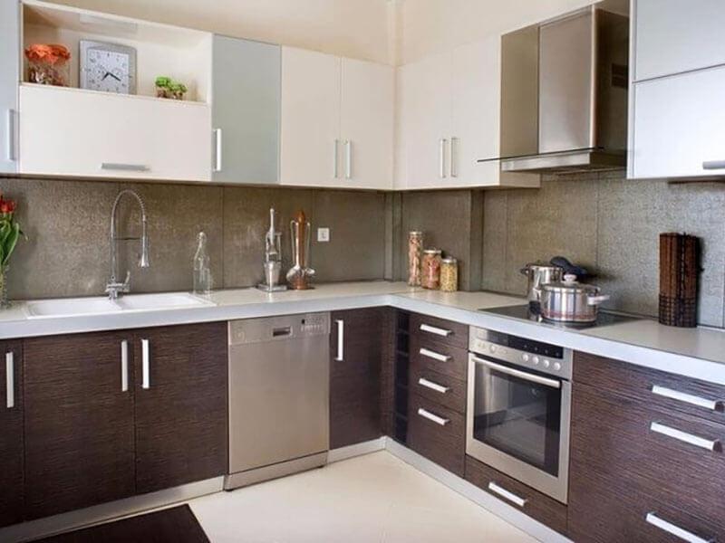 İncirliova Akrilik Mutfak Dolabı Modeli