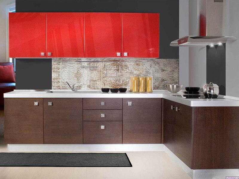 İncirliova High Gloss Mutfak Dolabı Modeli